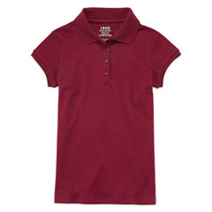 IZOD® Short-Sleeve Interlock Polo - Girls 7-18 and Plus