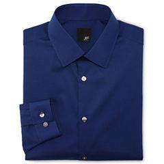 JF J. Ferrar® Solid Dress Shirt - Slim Fit