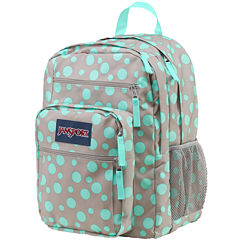 Jansport® Big Student Grey Rabbit Sylvia Dot Backpack