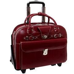 McKlein Roseville Leather Briefcase