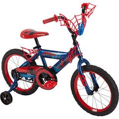 Huffy Marvel Spider-Man 16In Bike with WebTrap Handlebar Plaque