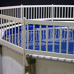 Vinyl Works Above Ground Pool Fence Kit (8 Section)