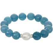 ROX by Alexa Aquamarine Stretch Bracelet