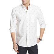 IZOD® Long-Sleeve Printed Woven Shirt