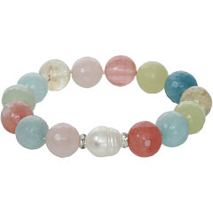 ROX by Alexa Multi-Gemstone Beaded Stretch Bracelet