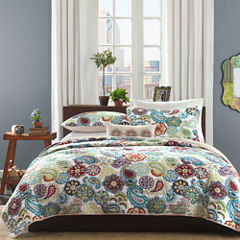 Mi Zone Asha Paisley Coverlet Set & Accessories