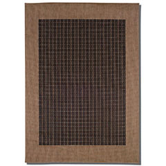 Couristan® Checkered Field Indoor/Outdoor Rectangular Rug