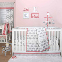 The Peanut Shell Peanut Shell Mix And Match 4-pc. Crib Bedding Set