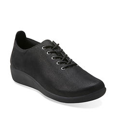 Clarks of England Sillian Tino Womens Oxford Shoes