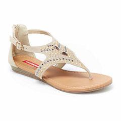 Union Bay Lara Womens Flat Sandals