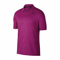 Nike Essential Short Sleeve Pattern Polo Shirt