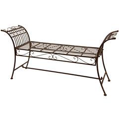 Oriental Furniture Garden Bench Patio Bench
