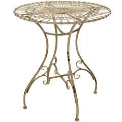Oriental Furniture Garden Table Patio Side Table