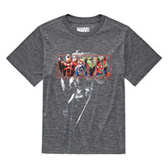 Marvel Graphic T-Shirt-Big Kid Boys
