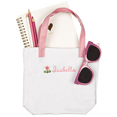 Cathy's Concepts Personalized Flower Girl Tote Bag
