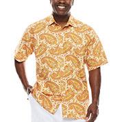 Steve Harvey® Short-Sleeve Shirt - Big & Tall