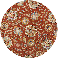 Decor 140 Alstonia Hand Tufted Round Rugs