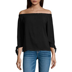 i jeans by Buffalo Off the Shoulder Top