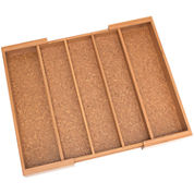 Lipper Expandable Utensil Organizer with Cork Lining