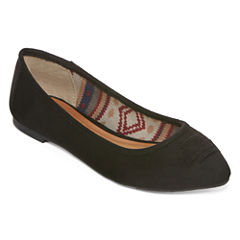 Arizona Calvery Pointed-Toe Slip-On Flats