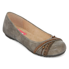 Pop Gazer Embellished Slip-On Flats