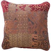 Croscill Classics® Catalina Red  Square Decorative Pillow