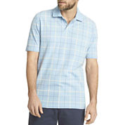 Arrow® Short-Sleeve Windowpane Piqué Polo
