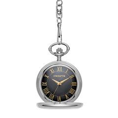Liz Claiborne Mens Pocket Watch-Clm1219