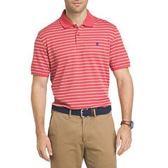 IZOD Advantage Stripe Short Sleeve Polo Shirt