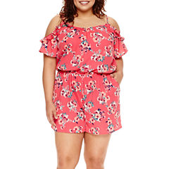 Arizona Printed Rompers - Juniors Plus