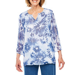 Alfred Dunner Indigo Girls Tunic Top