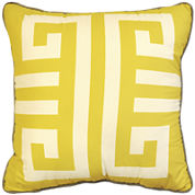 Idea Nuova Stylehouse Greek Key Decorative Pillow