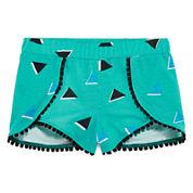 Okie Dokie® Wrap Shorts - Preschool Girls 4-6x