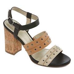a.n.a Rusti Womens Heeled Sandals