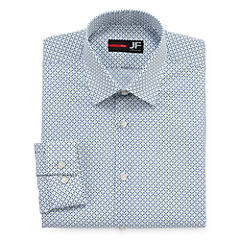 JFerrar Easy-Care Stretch Slim Fit Long Sleeve Dress Shirt