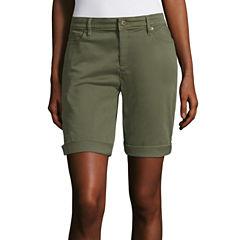 Liz Claiborne Woven Cargo Shorts
