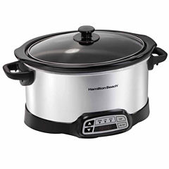 Hamilton Beach 6 Qt Programmable Slow Cooker