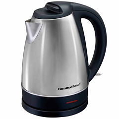 Hamilton Beach® 1.7 Liter Stainless Steel Electric Kettle