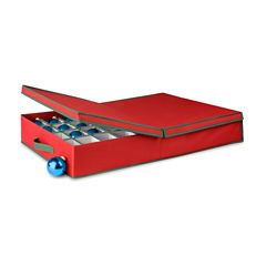 Honey-Can-Do® Adjustable Ornament Storage Box