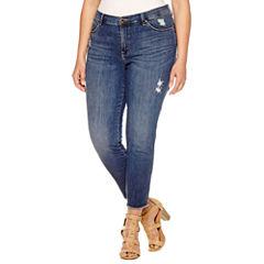 Lee Midrise Ankle Jeans- Plus