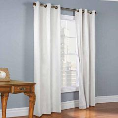 Weathermate 2-Pack Room-Darkening Grommet-Top Curtain Panels