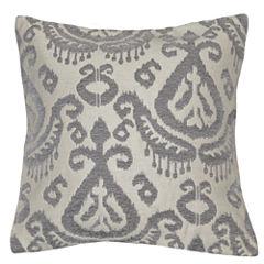 Ikat Square Throw Pillow