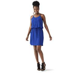 Bisou Bisou® Sleeveless Lace-Back Dress
