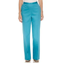 Alfred Dunner Scenic Route Flat Front Pants