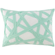 Happy Chic by Jonathan Adler Nina Twill-Tape Oblong Decorative Pillow