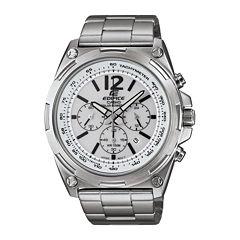 Casio® Edifice Tough Solar Mens Stainless Steel Watch EFR545SBD-7BVCF