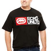 Ecko Unltd.® Justified Short-Sleeve Tee - Big & Tall