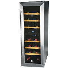 Kalorik 21-Bottle Dual-Temp Wine Cooler