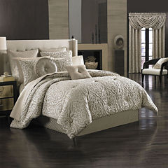 Queen Street® Antonia 4-pc. Jacquard Comforter Set and Accessories
