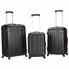Rockland Sonic 3-pc. Hardside Luggage Set
